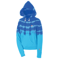 Champion Streak Dye Reverse Weave Hoodie - Women's - Blue / Light Blue