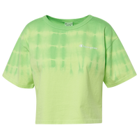 Champion Streak Dye Cropped T-Shirt - Women's - Light Green