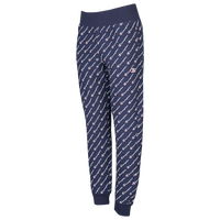 Champion All Over Print Script Jogger - Women's - Navy