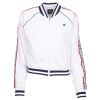 Champion Taped Track Jacket - Women's - White