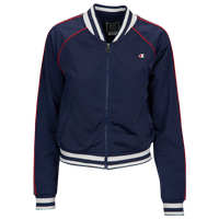 Champion Taped Track Jacket - Women's - Navy