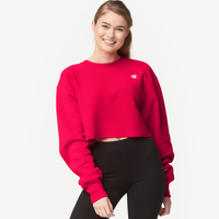 Champion Cropped Cut-Off Crew - Women's - Red