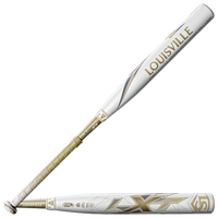Louisville Slugger LXT X19 Fastpitch Bat - Women's - White / Gold
