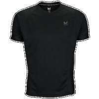 Mission Proton Short Sleeve Training T-shirt - Men's - All Black / Black
