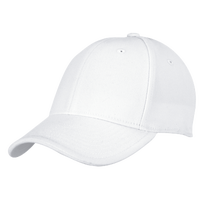 adidas Team Structured Flex Cap - Men's - All White / White