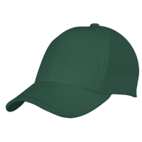 adidas Team Structured Flex Cap - Men's - Dark Green / Dark Green