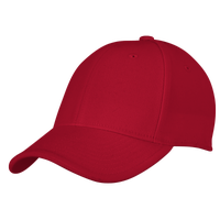 adidas Team Structured Flex Cap - Men's - Red / Red