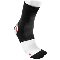 McDavid Ankle Sleeve/Elastic - Black / White