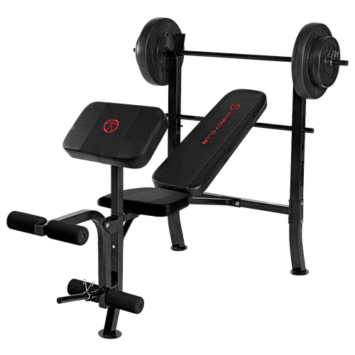 Marcy opp standard bench weight set training sport equipment Weight set and bench