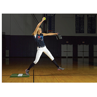 ProMounds Jennie Finch Mini Mat - Green / White