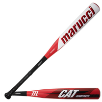 Marucci Cat 8 Comp Senior League Bat - Grade School - Red / White