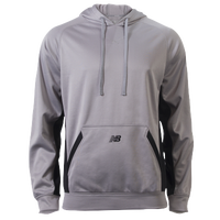 New Balance Performance Tech Hoodie - Men's - Grey / Black