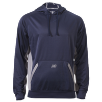 New Balance Performance Tech Hoodie - Men's - Navy / Grey