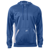 New Balance Performance Tech Hoodie - Men's - Blue / Grey