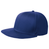 New Era Team Flat Bill Snapback Cap - Blue / Blue