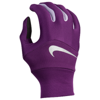 Nike Dri-FIT Tempo Run Gloves - Women's - Purple / White