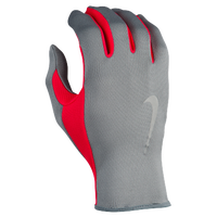 Nike Lightweight Rally 2.0 Run Gloves - Women's - Grey / Red