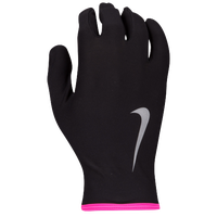 Nike Lightweight Thermal Rival 2.0 Run Gloves - Women's - Black / Pink