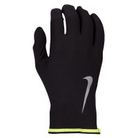 Nike Lightweight Thermal Rival 2.0 Run Gloves - Men's - Black / Light Green