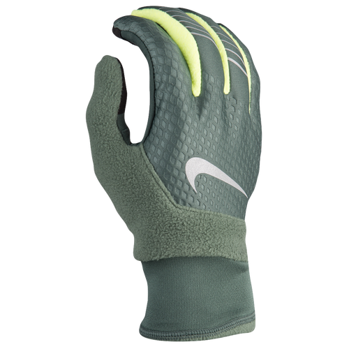 Nike Therma-Fit Elite 2.0 Run Gloves - Men's - Running - Accessories -  Vintage Green/Volt/Silver