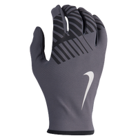 Nike Lightweight Thermal Rival 2.0 Run Gloves - Men's - Grey / Black