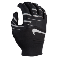 Nike Dri-FIT Printed Tempo 360 Flash Run Gloves - Women's - Black / Silver