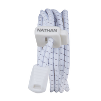 Nathan Run Laces - White / Grey