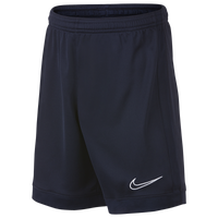 Nike Academy Knit Shorts - Grade School - Navy