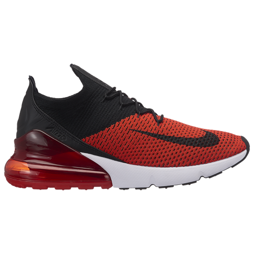 e81544cfc74 ... new zealand nike air max 270 flyknit mens casual shoes chili red black  challenge red white