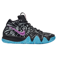 Nike Kyrie 4 - Boys' Grade School -  Kyrie Irving - Black / White