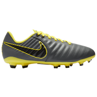 Nike Tiempo Legend 7 Academy MG - Boys' Grade School - Grey / Yellow