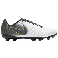 Nike Tiempo Legend 7 Academy MG - Boys' Grade School - White / Black