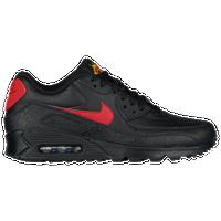 black and red air max 90 men's
