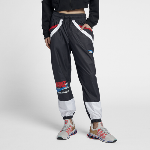 cd8d016946ca Nike NSW Woven Moto Pants - Women s - Casual - Clothing - Black ...