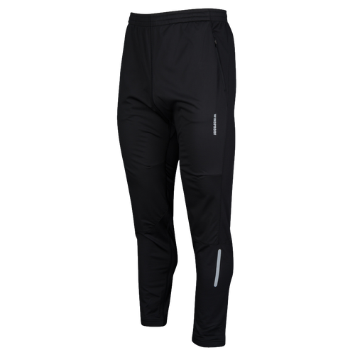 Runners Point Windproof Run Pants - Men's Running - Black P6M523