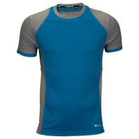 Runners Point Short Sleeve T-Shirt - Men's - Blue / Grey