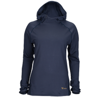 Runners Point Run Hoodie - Women's - Navy / Navy