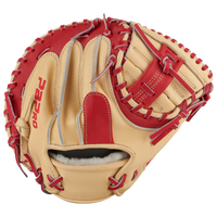 Bonechip PBPRO Elite Catcher's Training Mitt - Men's - Tan / Red