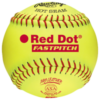 Rawlings Red Dot ASA/NFHS Fastpitch Softballs - Women's