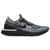 Nike Epic React Flyknit - Men's - Black / Grey