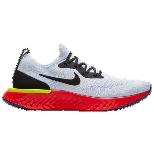 buy online 7d0ba 34cbe ... wholesale nike epic react flyknit mens running shoes true white black  pure platinum bright crimson abd5d ...