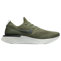 Nike Epic React Flyknit - Men's - Olive Green