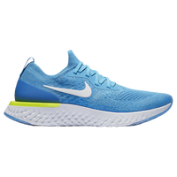 Nike Epic React Flyknit - Men's - Light Blue / White