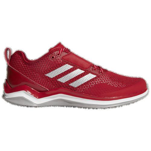 adidas Speed Trainer 3.0 - Men's Baseball - Power Red/Silver Metallic/White Q16542