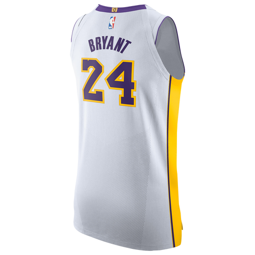 ... denmark nike nba authentic jersey mens clothing los angeles lakers kobe  bryant white c3a99 cfcc4 e8dbb4825