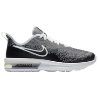 Nike Air Max Sequent 4 - Boys' Grade School - Black / White