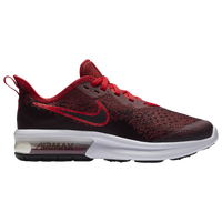 Nike Air Max Sequent 4 - Boys' Grade School - Red / Black