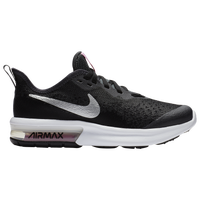 Nike Air Max Sequent 4 - Girls' Grade School - Black