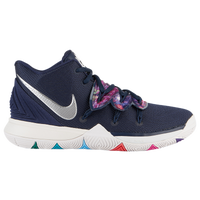 Nike Kyrie 5 - Boys' Preschool -  Kyrie Irving - Navy / Multicolor