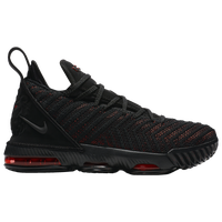 Nike LeBron XVI - Boys' Grade School -  Lebron James - Black
